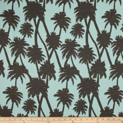 Covington Outdoor Solution Dyed Little Palm Vapor Fabric