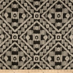 Covington Outdoor Solution Dyed Block Island Black/Tan Fabric