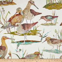 Golding by P/Kaufmann Waterfowl Duck Autumn Fabric
