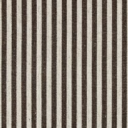 Golding by P/Kaufmann Scout Stripe Canvas Coffee Fabric