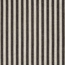 Golding by P/Kaufmann Scout Stripe Canvas Char Fabric
