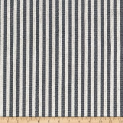 Golding by P/Kaufmann Scout Stripe Canvas Navy Fabric