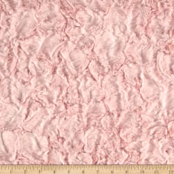 Michael Miller Minky Sarah Jane Magic Solid Bella Snuggle Light Pink