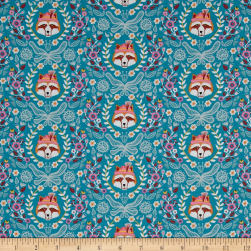 Riley Blake Vienna Main Teal Fabric