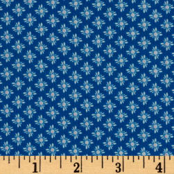 Riley Blake Vienna Medallion Navy Fabric