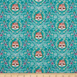 Riley Blake Vienna Main Green Fabric