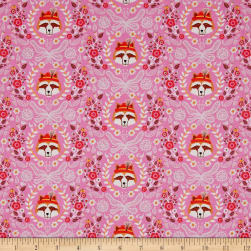 Riley Blake Vienna Main Pink Fabric