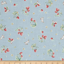 Penny Rose Bunnies & Cream Bunnies Strawberry Blue