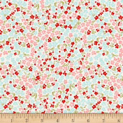 Riley Blake Rustic Elegance Floral White Fabric
