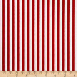 Stripe 1/4 Inch Color Red Fabric