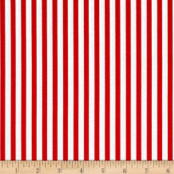 Riley Blake Lost & Found America Stripe Red