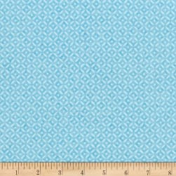 Riley Blake Paige's Passion Diamond Blue Fabric