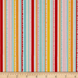 Riley Blake Happy Day Stripes Multi Fabric