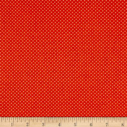 Riley Blake EEK BOO Shriek Dot Orange Fabric