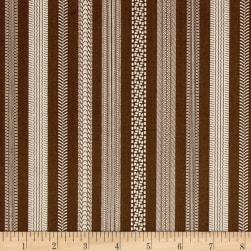 Riley Blake Jeep Thread Brown Fabric
