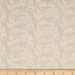 Penny Rose Trick or Treat Ghosts Cream Fabric