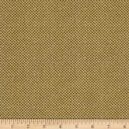 Bee Happy Basket Weave Gold Fabric