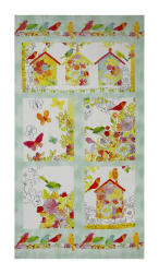 "Happy Meadows Digital Print 24"" Panel Multi"