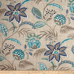 Magnolia Home Fashions Tradewinds Ocean Fabric