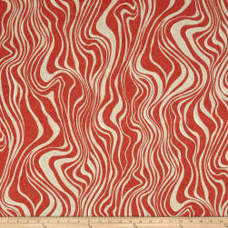 Swavelle/Mill Creek Indoor/Outdoor Guzzo Autumn Red Fabric