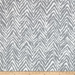 Swavelle/Mill Creek Indoor/Outdoor Hill Stone Silver Frost Fabric