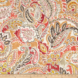 Swavelle/Mill Creek Indoor/Outdoor Pezzola Rose Spice Fabric