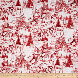 Susan Winget Woodland Toile Multi Fabric