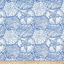 P/Kaufmann Outdoor Jacquard Sea Shells Marine Olefin Fabric