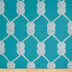 P/Kaufmann Outdoor Yacht Club Turquoise Fabric