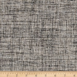 Europatex Pandora Upholstery Basketweave Tan/Black Fabric