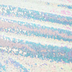 Starlight Sequined Mermaid Iridescent Fabric