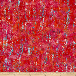 Bali Handpaints Batiks Water Droplets Coral Gables Fabric