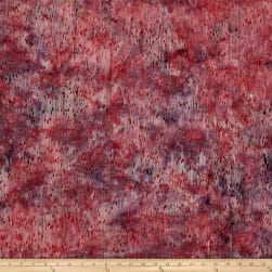 Bali Handpaints Batiks Lines Dusty Pink Fabric