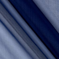 Telio Silk Organza Navy Fabric