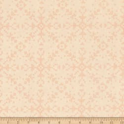 Dear Stella Dala Cross Stitch Flakes Custard Fabric