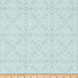 Dear Stella Dala Cross Stitch Flakes Glacier Fabric