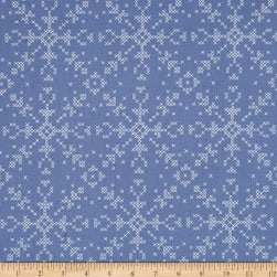 Dear Stella Dala Cross Stitch Flakes Marlin Fabric