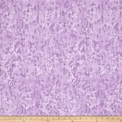Timeless Treasures Veranda Filigree Lilac