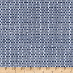 Intermix Dobby Shirting Stitch Weave Blue