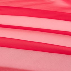Telio Silk Organza Red Fabric