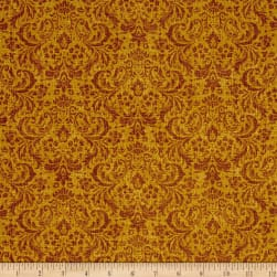 Let it Be Damask Mustard