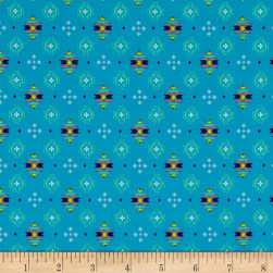 Pow Wow Small Aztec Print Medium Turquoise