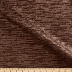 Textured Vinyl Nevada Brown Fabric