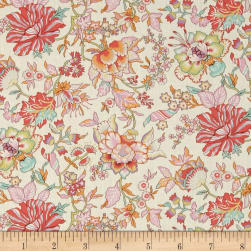 Liberty Fabrics Classic Tana Lawn Christelle Cream/Multi Fabric