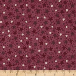 Frosty Friends Starry Sky Strawberry Fabric
