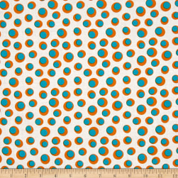 Dino Daze Eggs White Fabric