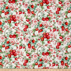 Illuminating The Season Digital Balaustine Noel Fabric