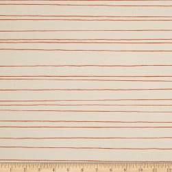 Cotton + Steel Cozy Pencil Stripe Natural