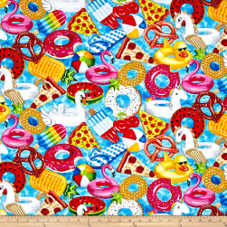 Timeless Treasures Pool Party Pool Floats Pool Fabric