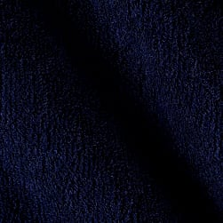 Telio Bamboo Rayon Terry Cloth Midnight Blue Fabric